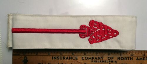 Experienced Order Of The Arrow Long Ordeal Sash Used With Thread Pull