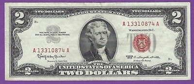 2 00 United States Note   1963   Granahan Dillon   A13310874a
