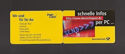 """Bund Portocard P-1999-5.700-3 """"schnelle Infos"""" Kleinauflage"""
