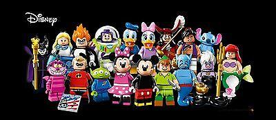 LEGO 71012 Series Disney Minifigures - Complete Set of 18 - New in Pkg