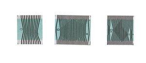MERCEDES W202 W208 W210 Tacho Kombiinstrument Kontaktfolie Flexband LCD Display