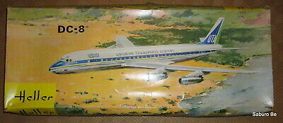 Heller 1/125 DC-8   L 705  UTA