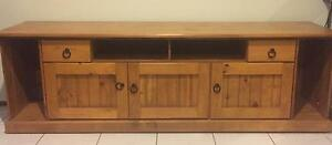 Wooden entertainment unit Thornlands Redland Area Preview