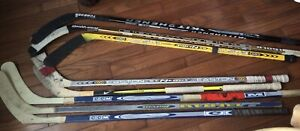 Hockey Sticks,  Senior Size - Easton, Reebok, Bauer, Sherwood