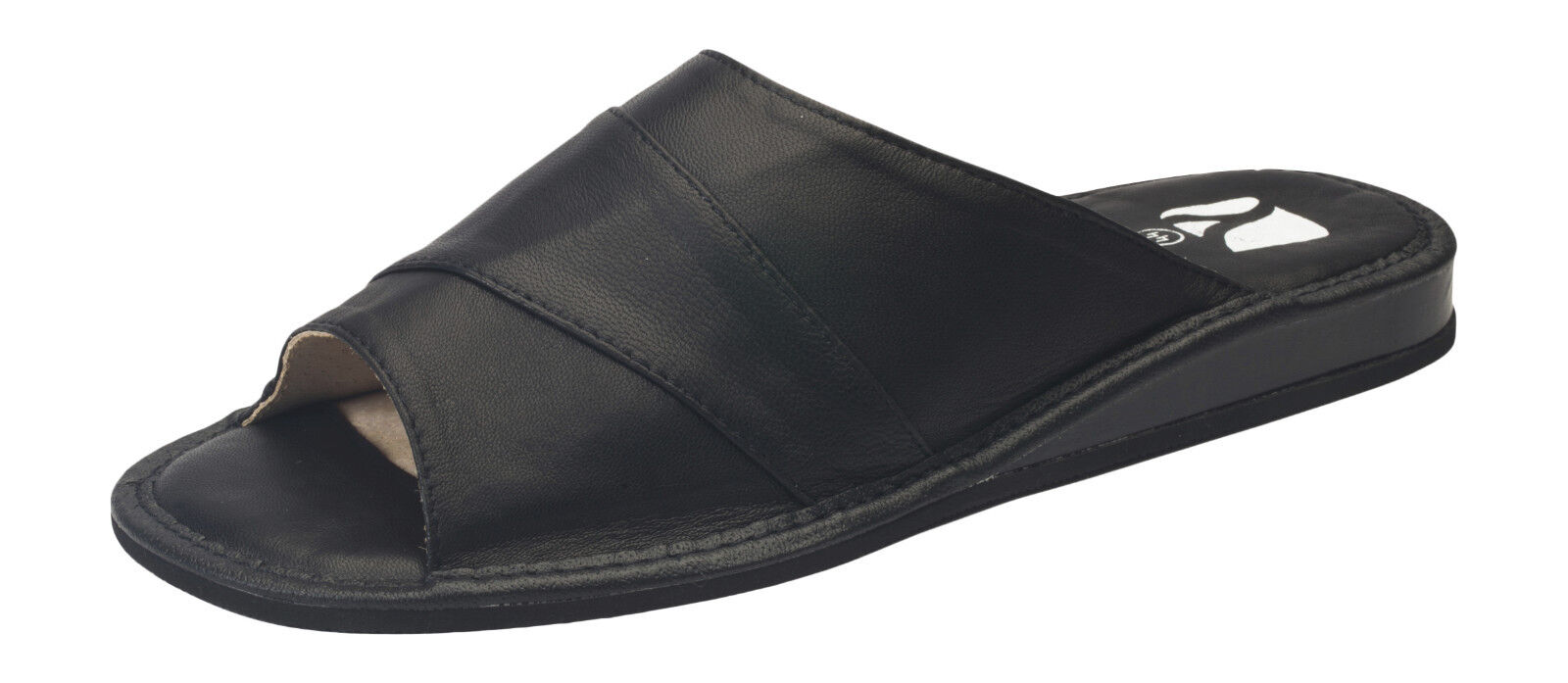 419536fe8 New Mens Comfort House Slippers Leather Slip On Shoes UK Size 7 8 9 10 11  12 13