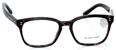 BURBERRY Men's Dark havana Eyeglass (Burberry Men's Eyeglass Frames)