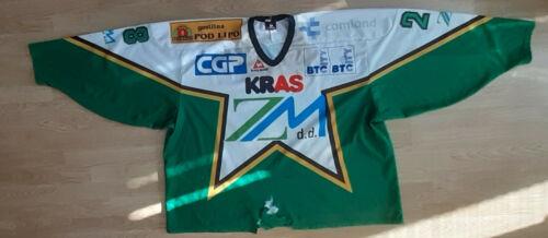 ICE Hockey club OLIMPIJA Ljubljana Match Worn Jersey Slovenia