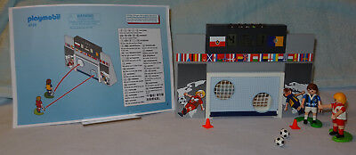 Playmobil 4726 Electronic Sports+Action Football Shooting Practice Complete VGC