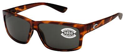 Costa Del Mar Cut Sunglasses UT-51-OGGLP Honey Tortoise | Gray 580G (Costa Del Mar Cut Tortoise)