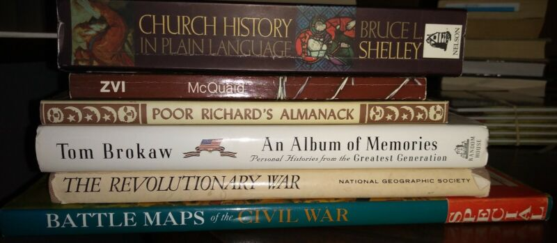 Historical Book Lot