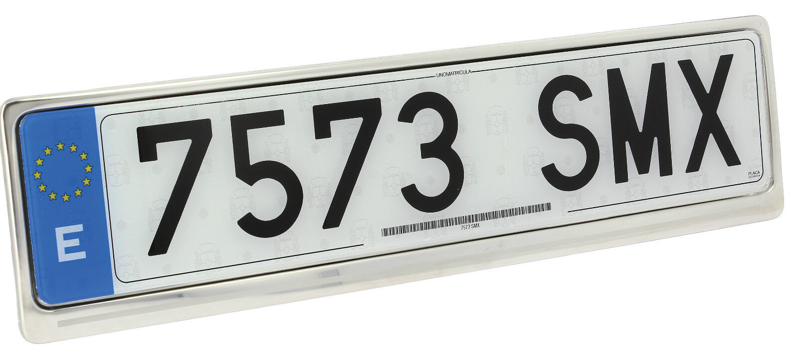 2 of 5 Sumex Car Silver Stainless Steel License Number Plate Holder Frame Surround #PBM  sc 1 st  PicClick UK & SUMEX CAR SILVER Stainless Steel License Number Plate Holder Frame ...