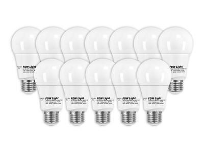 New 75 Watt Equivalent SlimStyle A19 LED Light Bulb 2700K Dimmable 12 Pack E1275 Home & Garden