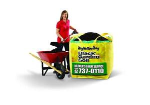 SAVE $20 NOW  BigYellowBag Premium Black Garden Soil