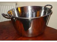 Cookware Large 2 handled sauce pan stainless steel Jam pot Catering Industrial