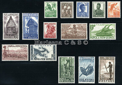 PAPUA NEW GUINEA 1952 SG 1-15 SC 122-136 MNH ** COMPLETE SET 15 STAMP £130/$205