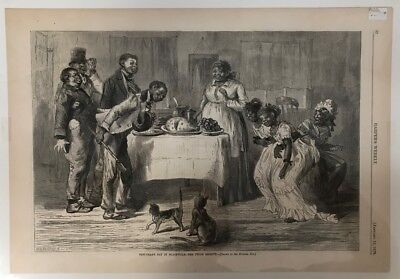 New Years Day in Blackville The Twins Receive Sol Eytinge Harpers Weekly 1878