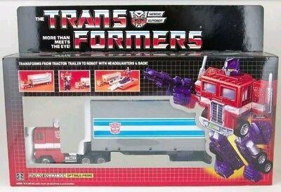 Transformers G1 Optimus Prime Re-issue SEALED Reissue Brand NEW US Seller