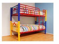 Metal multi colour Bunk Bed