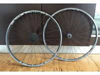 Shimano Tiagra 700c wheelset, Cassette included