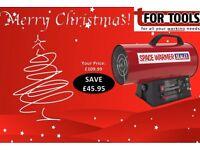 Sealey LP40 Space Warmer® Propane Heater 26,000-42,000Btu/hr