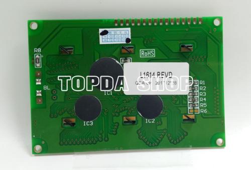 1pc L1614 REVD ZINCD 107 94V-0 TECDIS HD44780UB29FS7L1 LCD display