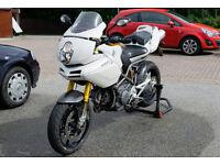 Ducati Multistrada 1100s - White S Model Ohlins Suspension + Carbon