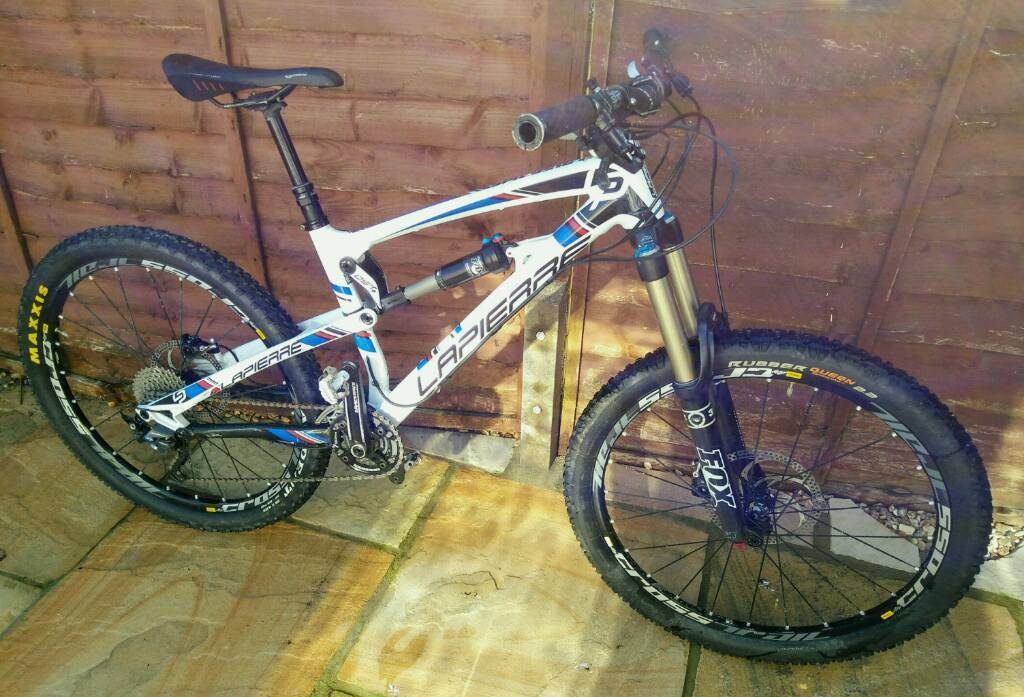 Lapierre Spicy 516 (2013) Smallin Gillingham, DorsetGumtree - Much enjoyed mountain bike 2013 Lapierre Spicy 516, size small. Bought new in 2013. Still in good condition with some wear that is to be expected.Specs from Lapierre website Frame Spicy 516 Alloy 7005 SL OST 16 mm Tapered 12x142Fork FOX 34...
