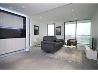20TH FLOOR BRAND NEW FURNISHED SPACIOUS 1 BEDROOM APARTMENT - DOLLAR BAY POINT CANARY WHARF E14