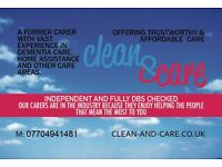 Clean&Care - Personalised Domestic Care Routine in Great Yarmouth and Nearby Areas (clean and care)