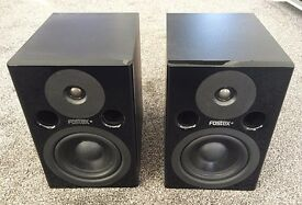 Fostex PM0.5 MKII Active Nearfield Monitor Studio Speakers