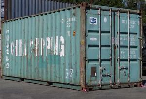20-foot Shipping Containers (China Shipping)