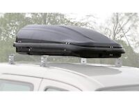 Quest Roof Box (320L) and Lockable Universal Roof Bars £100 for Both
