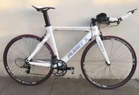 Planet X Stealth TT bike -great equipment and wheels -perfect price for starting TT or a second bike