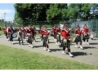 The Breaston Highlanders Marching Band Wants You