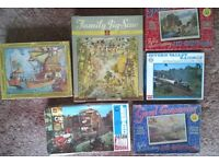 Jigsaw Puzzles - each 400 - 500 pieces