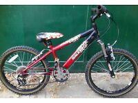 20inch Wheels Raleigh Hot Rod Kids Boys Girls age 5 6 7 8 9 years MTB Mountain Bike junior bicycle