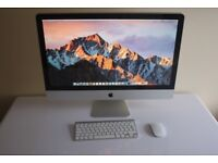 "Apple iMac A1312  27"" Desktop Intel Core I7 16GB RAM RADEON HD 5750 GB 1TB"