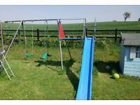 TP Steel Swing and slide set