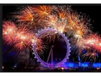 London Fireworks - BLUE AREA - Best area