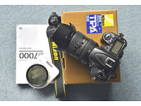 Nikon D7000 + 16-85mm VR Nikon Lens - Will Sell Separately