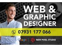 ⭐ Website Design | Designer | Cheap Graphic | Web | Videos | Freelance developer