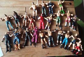 23 Wrestling figures £40 ono