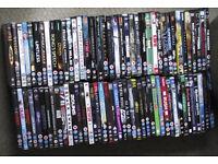 142 DVDs including some box sets.