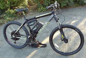 Electric Mountain Bike - Wing Black Stallion - 48v 1000w - Very Fast -Top Spec. 12ah Li-on