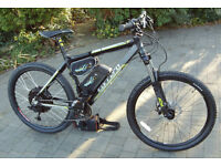 Electric Mountain Bike - Wing Black Stallion - 48v 1000w - Very Fast -Top Spec. 12ah Li-on
