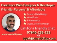 Freelance Web Designer - Friendly & Affordable
