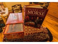 Inspector Morse 16 x DVD complete set with books in perfect condition with booklets