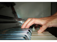 Piano and music theory tuition