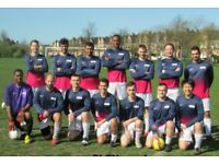 FOOTBALL TEAMS LOOKING FOR PLAYERS, 1 STRIKER, 1 MIDFIELDER NEEDED FOR SOUTH LONDON FOOTBALL TEAM:
