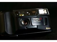 Yashica T3 Carl Zeiss Tessar 2.8/35 Lens